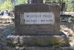 Lucille Myrtle Waller Fields (1922-1988) - Find A Grave Memorial