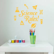 science classroom wall decals vinyl