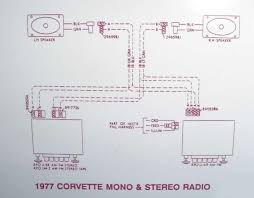 c3 corvette forum radio wiring diagram for stock 77 burnout