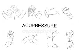 Hand Body Chart Acupressure Foot Chart Stock Vectors Royalty Free