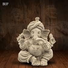 buf sand hindu god statue decoration resin craft figurine home