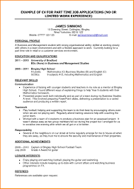 How to Write A Resume for A Part Time Job 28 Resume Sample for ...