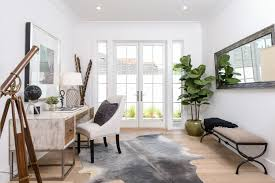 gentle modern home office. The Home\u0027s Dedicated Office, Located On First Level, Is Anything But Stuffy. French Doors Open Out Onto Side Yard Whenever One In Need Of A Gentle Modern Home Office