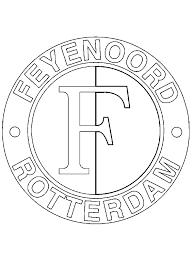 Feyenoord Kleurplaat Printen