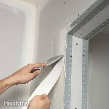 interior drywall taping tips family handyman elegant corner repair 7 drywall corner repair