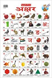 Buy Educational Charts Hindi Alphabet Book Online At Low