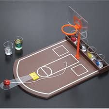 Wooden Basketball Game Free shipping Foreign trade Wooden Basketball machine Wine 24