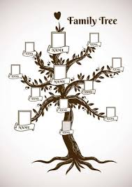 Template Tree Family Tree Template Download Free Vectors Clipart