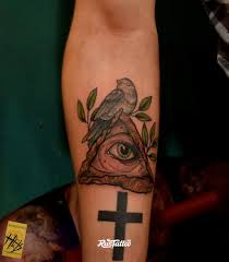 крест значение татуировок в россии Rustattooru