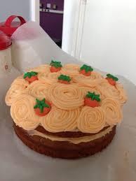 Carrot Cake Decoration Idea Cake Decorating In 2019 Cake Cookies