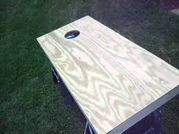 Wooden Corn Hole Game How to paint corn hole boards chapter 100 YouTube 92