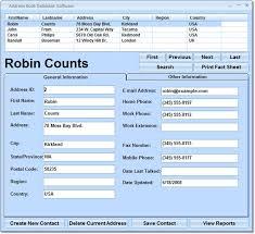 Address Database Software Free Address Book Database Software Free Download For Windows 10 7 8
