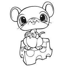 Lps Littlest Pet Shop Coloring Coloring Pages Cute Coloring