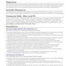 Objective Resume Templates Entry Level Career Internship Graduate