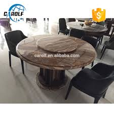 Marble Dining Table Round Round Marble Dining Table With Lazy Susan Round Marble Dining