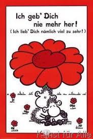 Klassischer Kunstdruck Geb Dich Nie Mehr Her Von Sheepworld Rot