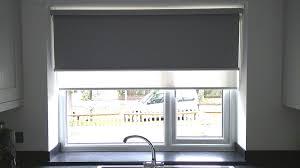 Great Kitchen Window Treatments Roman Shades And Best 25 Window Best Blinds For Kitchen Windows