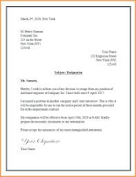 Resignation Letter Templates 2 Week Notice Nursing Resignation