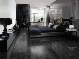 Unique Black Hardwood Flooring Ideas Black Hardwood Floor Very Nice Look  With Decorative Bed Table
