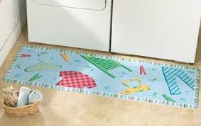 Laundry Room Runner Rug from Collections Etc.