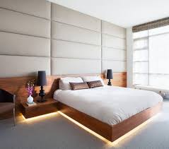 platform beds with lights. Brilliant With This Already Bright Bedroom Added A Strip Of LED Lights To The Bottom  This Bed For Warmer Glow In Platform Beds With Lights M