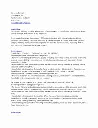 Bookkeeper Cover Letter Full Charge Bookkeeper Cover Letter Luxury Full Charge Bookkeeper 24