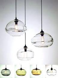 glass pendant lighting hand blown glass pendant lights canada
