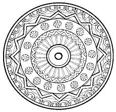 Mandala Kleurplaat Hartjes