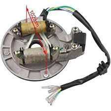 amazon com x pro 2 coil magneto stator for 70 cc 90cc 110 cc Roketa 110cc Pit Bike Wiring x pro 2 coil magneto stator for 70 cc 90cc 110 cc 125cc kick Sunl 125Cc Pit Bikes