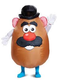 mr potato head mustache. Plain Mustache Inflatable Mr Potato Head Adult Costume Inside Mr Mustache E