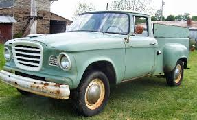 1960 Studebaker Champ half ton short bed pickup truck