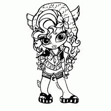Printable Monster High Cleo De Nile Coloring For Kids Monster High