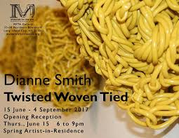Twisted Woven Tied: Dianne Smith - Materials for the Arts
