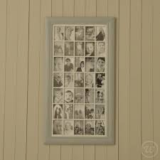 multiple picture frames wood. Grey Multi Photo Frame - Thirty Five 4x6 Photos Multiple Picture Frames Wood