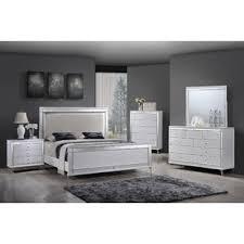 Glam White Bedroom Sets You'll Love | Wayfair