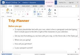 Business Trip Planner Free Trip Planner Template For Word Online