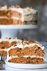 Paleo Carrot Cake With Coconut Cream Cheese Frosting The Paleo
