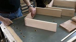 How To Make Drawers Cherry End Table Night Stand Drawers And Top Pt 3 Youtube