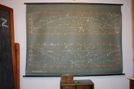 Vintage School Pull Down Charts Large Vintage Retro School Pull Down Chart Wall Poster