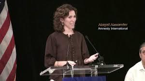 Abigail Alexander (Amnesty International) - The story of Cuban torture  survivor Amado Rodríguez - video dailymotion