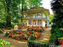 Beautiful Home Flower Gardens