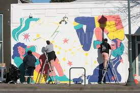 press release fresh paint brings new mural to northeast portland