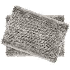 laura ashley er chenille 17 in x 24 in 2 piece bath mat