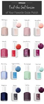 Essie Gel Colors Chart Essie Nail Polish Flowerista Spring 2015 Collection Set Of 6