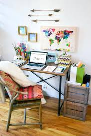 ways to decorate an office. How To Decorate Your Home Office Desk Ways The Chic Technique In Nyc Apartment Tour Hipster Small One Bedroom An