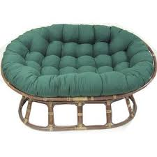 papasan furniture. blazing needles oversize double papasan chair cushion color aqua blue furniture