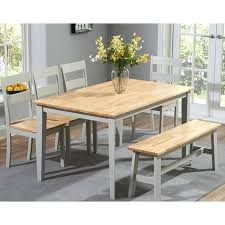 dining table 4 chairs and bench grey painted dining table 4 chairs and a bench whitesburg