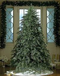 Lit Faux Blue Spruce Trees  Pottery BarnBlue Spruce Pre Lit Christmas Tree