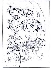 My Little Pony Regenboog 1 Kleurplaat Dieren Kleurplaten My