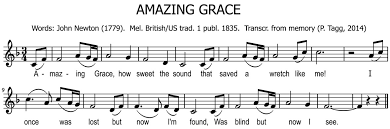 Bagpipe Grace Note Chart Notation